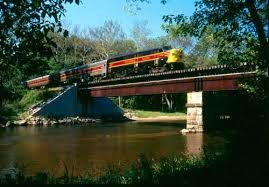 Cuyahoga Valley National Park train